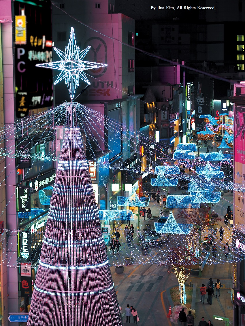 Holiday celebrations abound in Busan