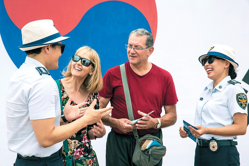 ⁠⁠Tourist police give visitors source for safety