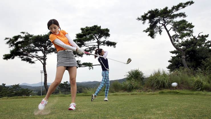 世界トップクラスの女子プロゴルファー競技、釜山で観戦しよう!