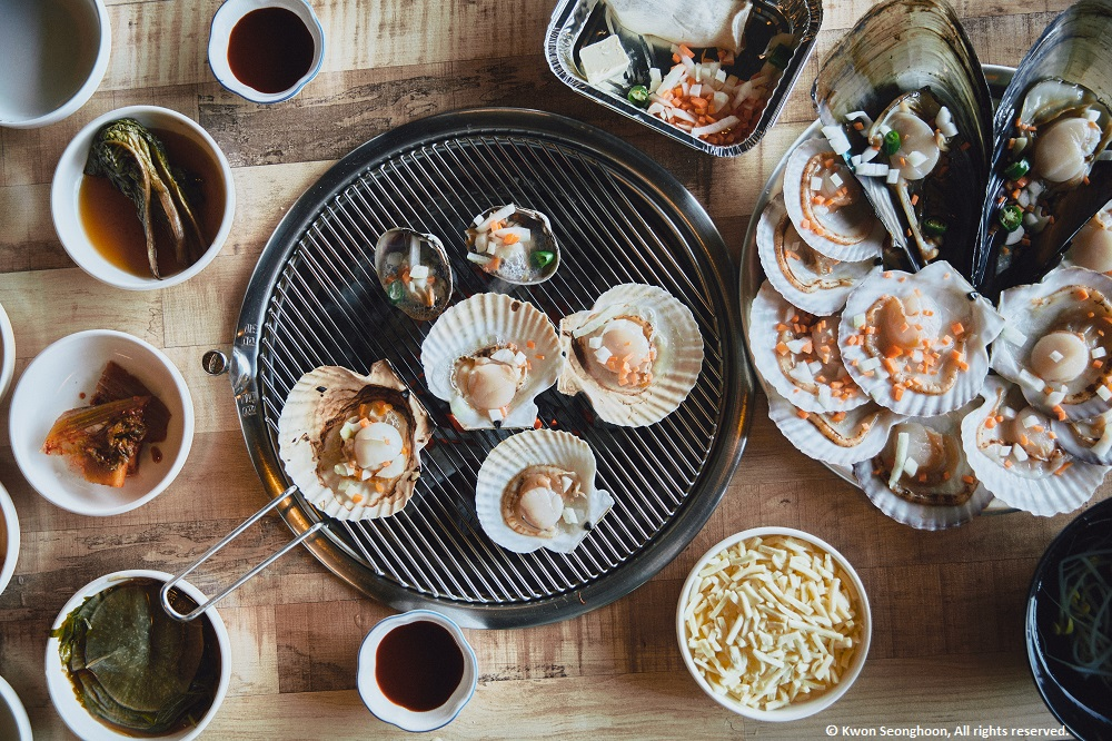 Open your mind, body and soul to tasty grilled clams