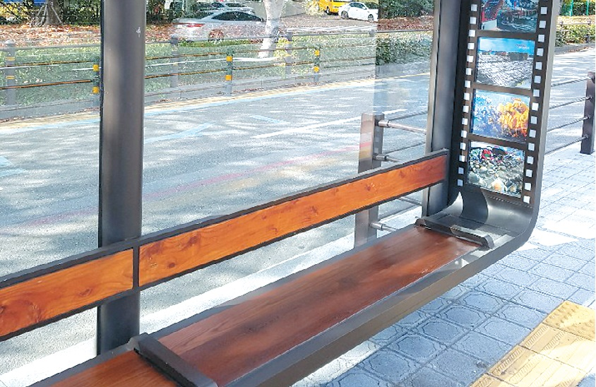 Heated seats coming to bus stops