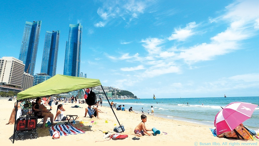 Seven Busan beaches, unlimited good times