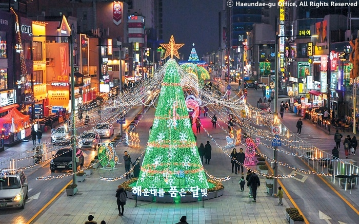 Busan Christmas festivities to light up earlier