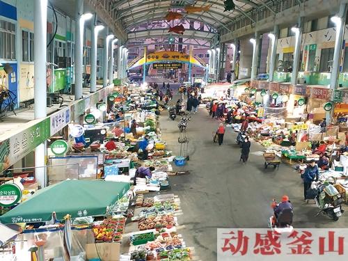 [与动感釜山同行釜山路] 唤醒釜山清晨的市场路
