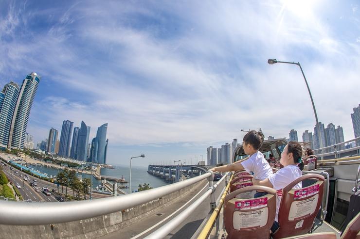 釜山シティツアーバス、一部路線を5月から運行再開
