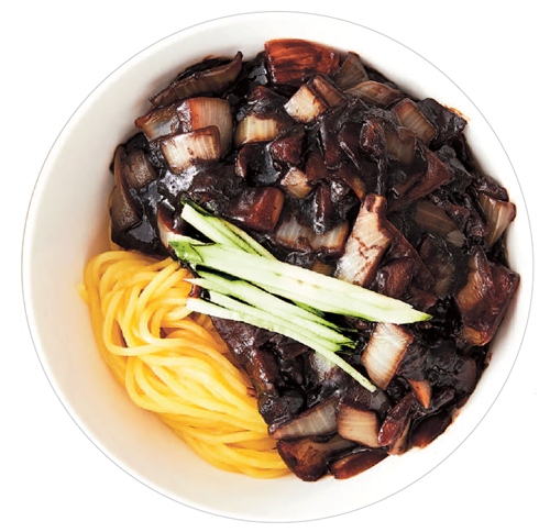 Jjajangmyeon is a Korean food for all occasions