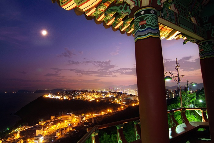 Busan's most illuminated views