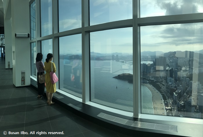 This is Busan's coolest new observatory