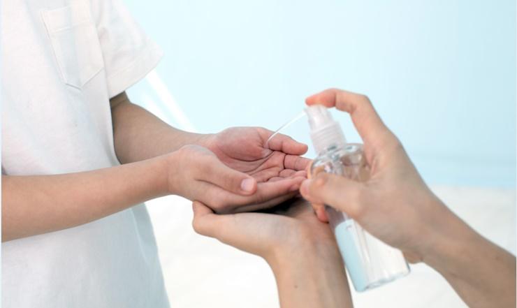 手消毒剂的制作方法