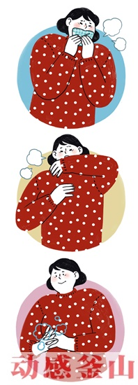 戴口罩,勤洗手是最好的预防访华后14天内出现咳嗽、