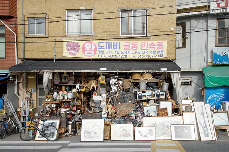 부산중앙시장 모습.
