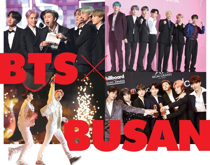 BTS performing in Busan June 15 and 16