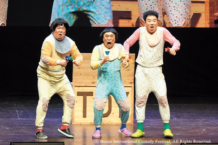 Busan International Comedy Festival laughs again