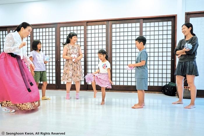 부산전통문화체험관 제기차기