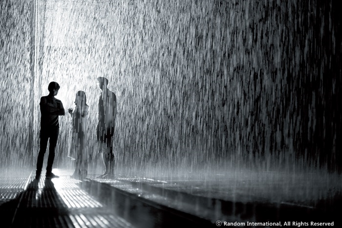 (Don't) get wet in the Rain Room
